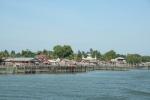 Keramba ikan krapu di Pulau Sembilan