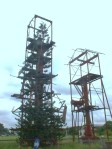 Monumen industri perminyakan di  Pangkalan Brandan