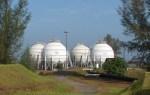 Tanki LPG di Pangkalansusu